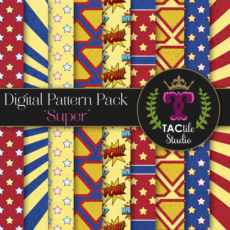 Super Digital Paper Pack