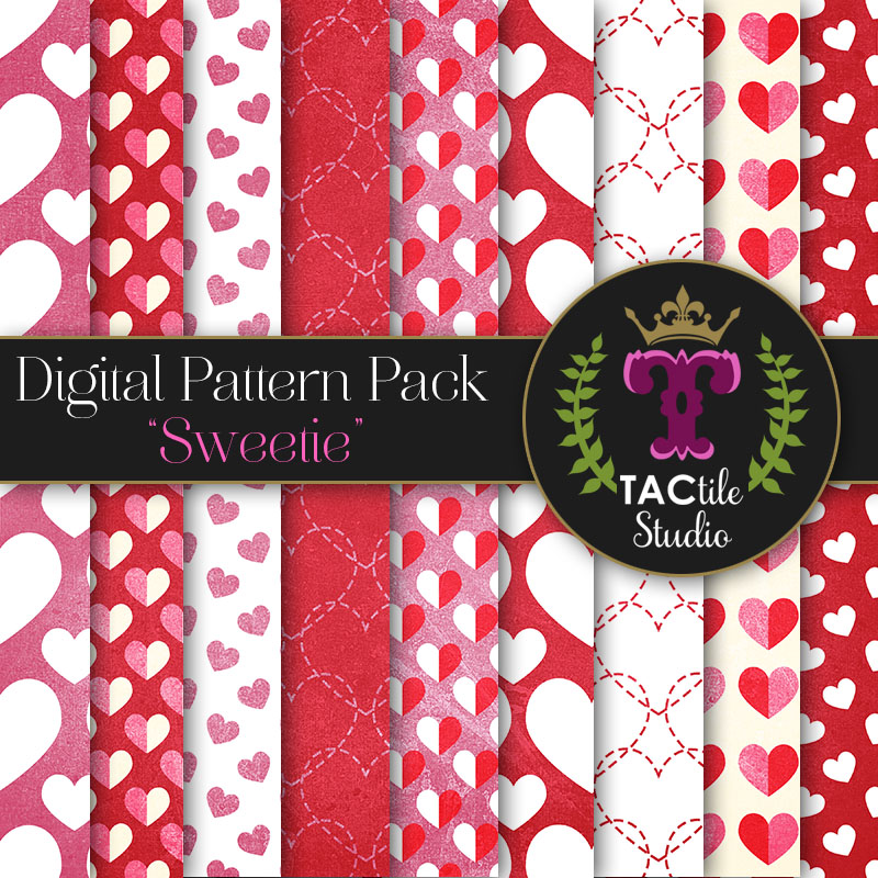 Sweetie Digital Paper Pack