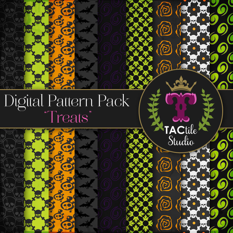 Treats Digital Paper Pack