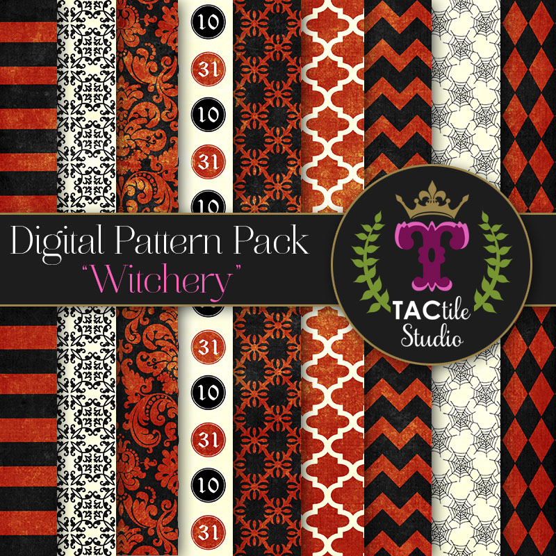 Witchery Digital Paper Pack