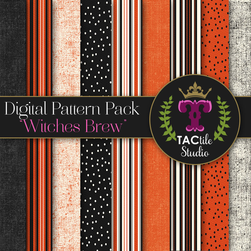 Witches Brew Digital Paper Pack