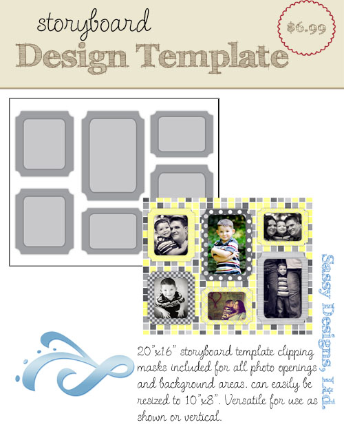 Broadmoor 16x20/8x10 Storyboard Template