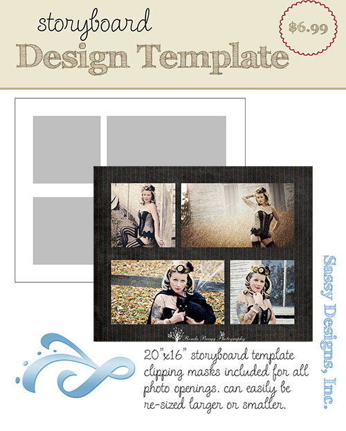 Cube 16x20 Storyboard Template