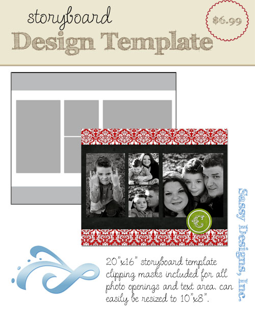 Magical 16x20 Storyboard Template