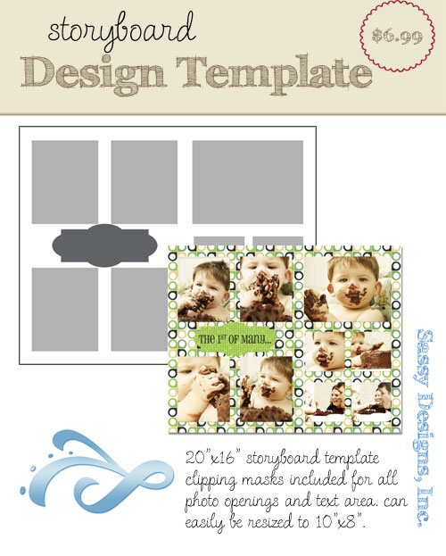 Richmond 16x20/8x10 Storyboard Template