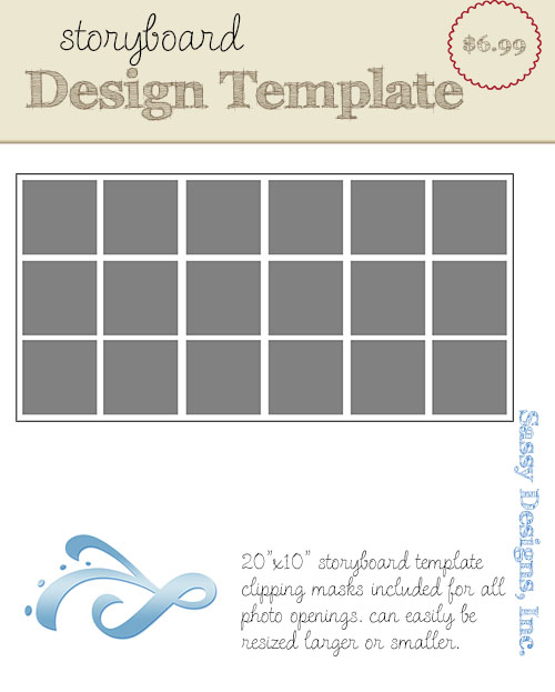 Willow 20x10 Storyboard Template