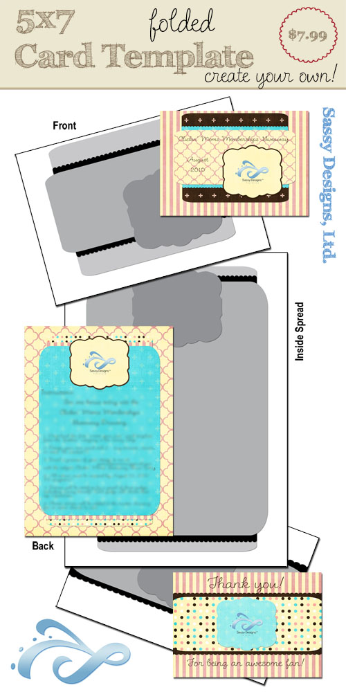 Create Your Own Card Template #21