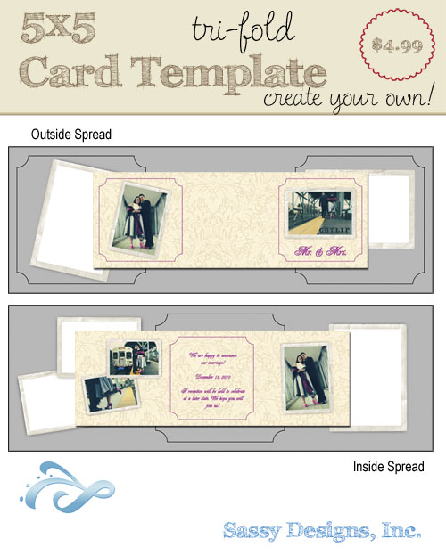 Create Your Own Card Template #23