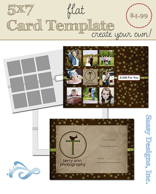 Create Your Own Card Template #24
