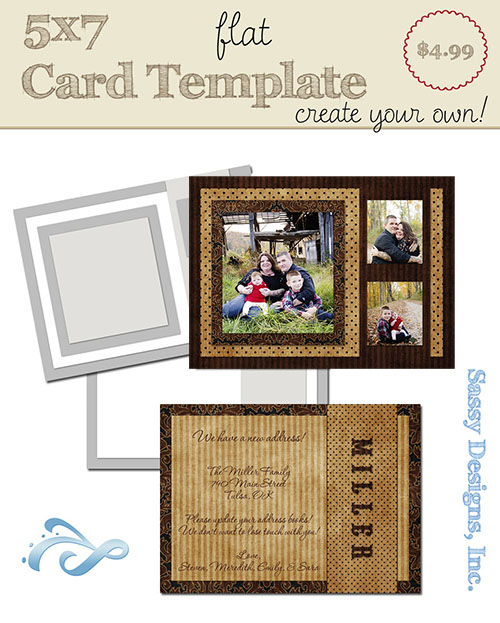 Create Your Own Card Template #25