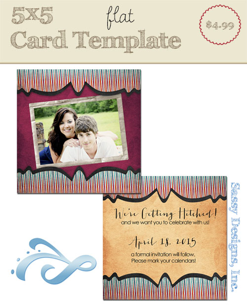 Analisa Card Template
