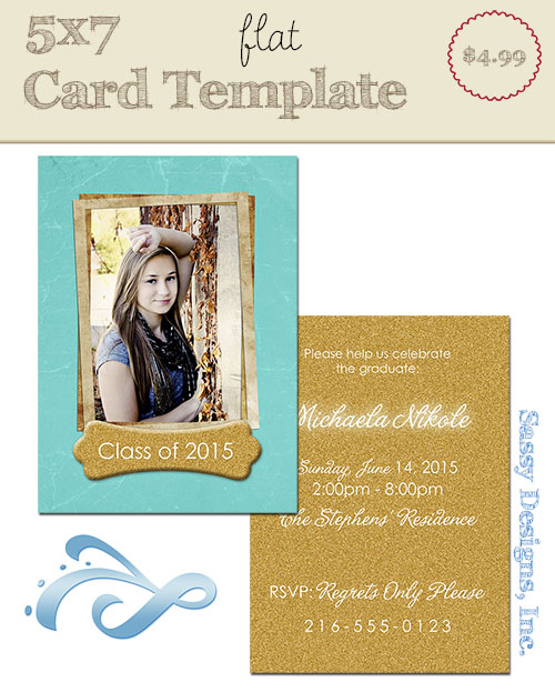 Briddie Card Template