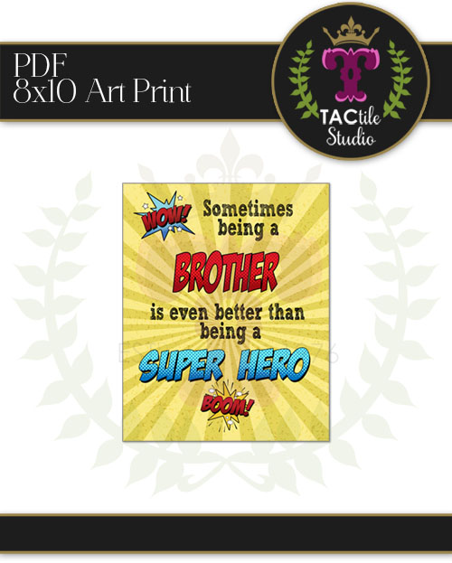 BROTHER - Superhero