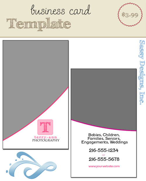 Business Card Template #2