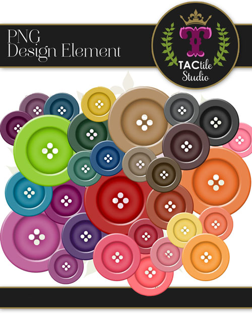 Buttons Design Elements