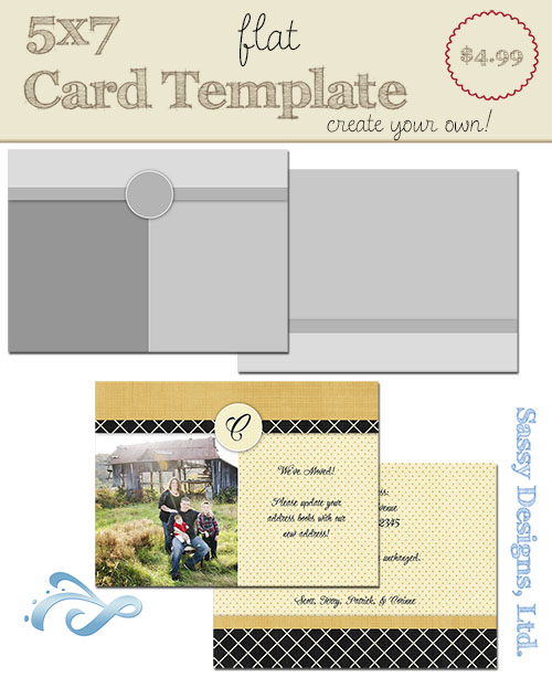 Create Your Own Card Template #04