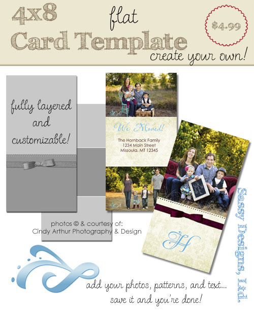 Create Your Own Card Template #03