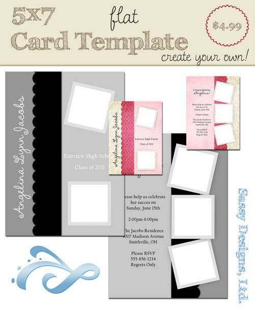 Create Your Own Card Template #07