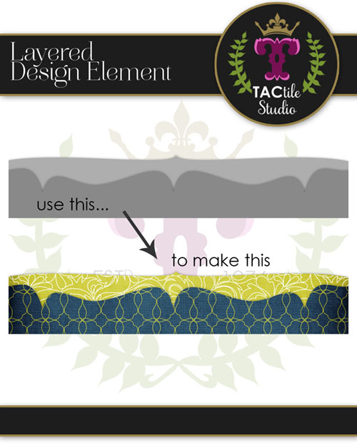 Double Ornate Layered Border