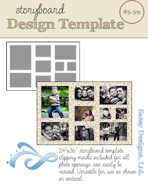 Engage 24x36 Storyboard Template