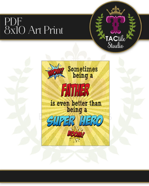 FATHER - Superhero