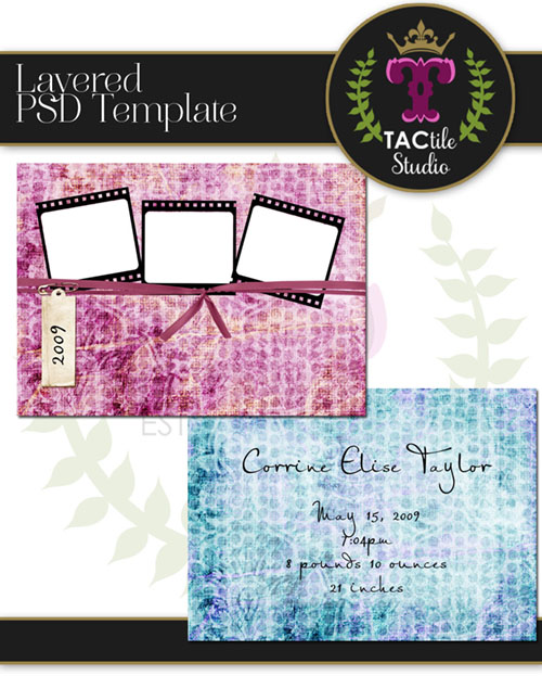 Fiesty Card Template