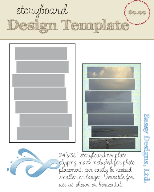 Frenzy 24x36 Storyboard Template