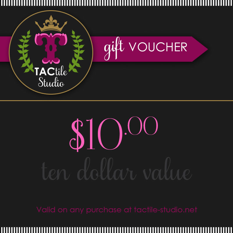 Gift Certificate - $10.00