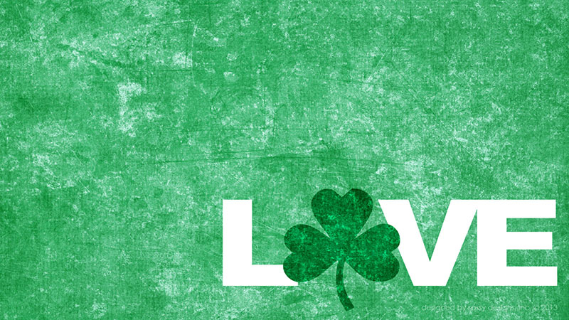 Irish Love Desktop Background