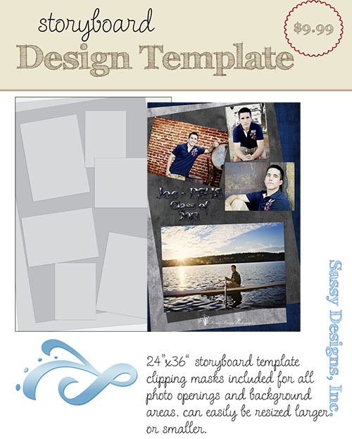Journey 24x36 Storyboard Template