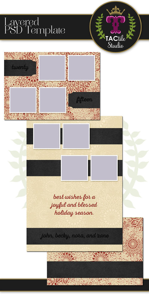 Lacey Card Template