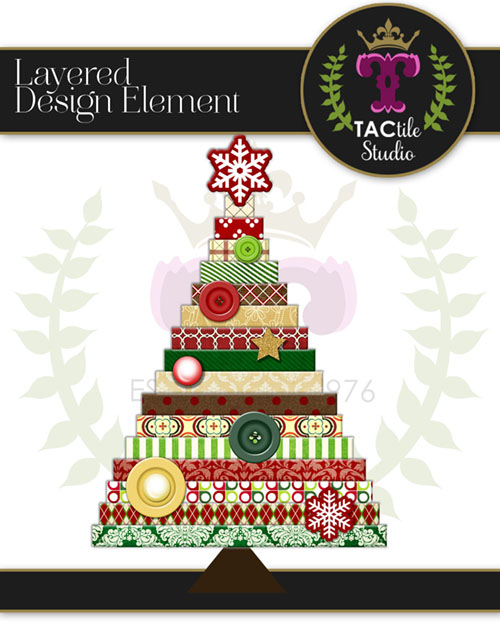 Layered Christmas Tree