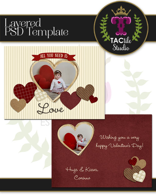 Loving Card Template