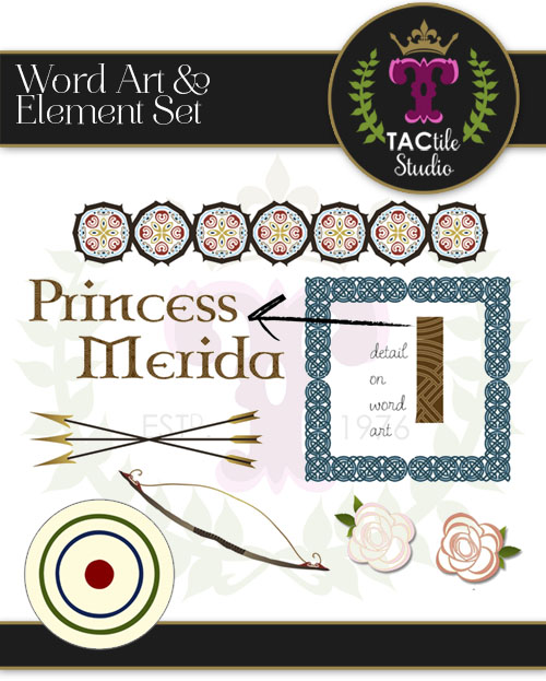 Merida Inspired Design Elements