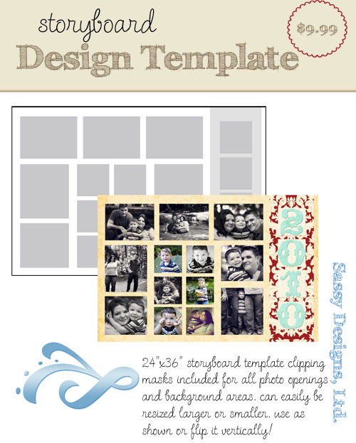 Montego 24x36 Storyboard Template
