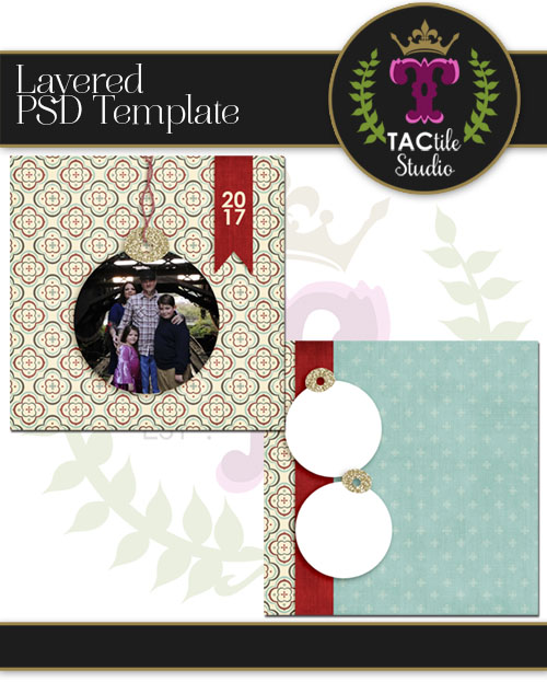 Ornamental Card Template