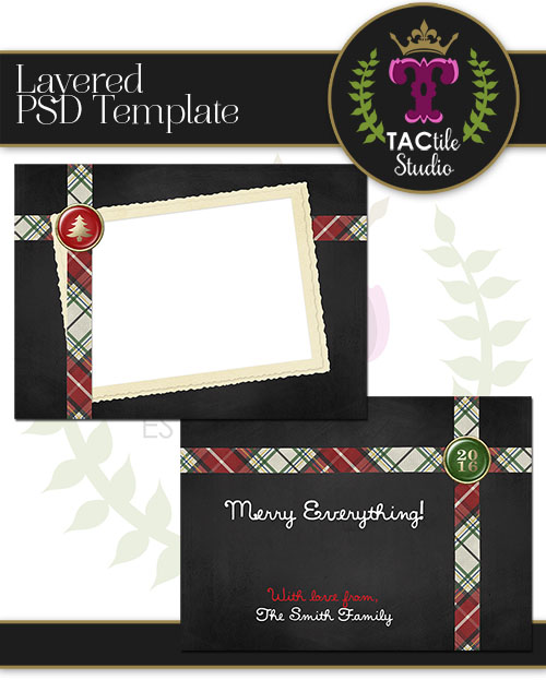 Packaged 2 Card Template