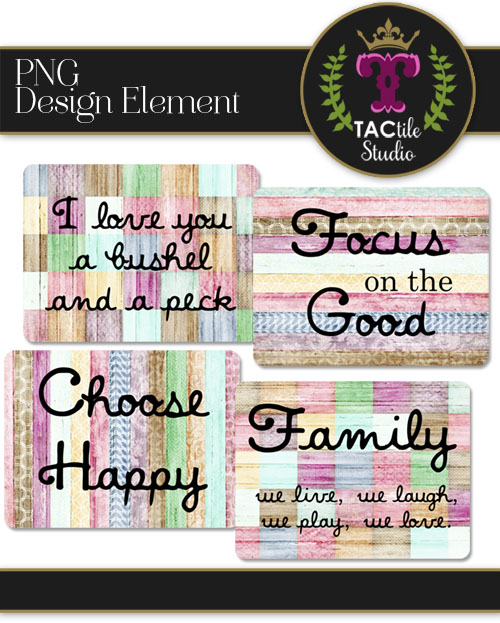 Patchwork Quote Cards