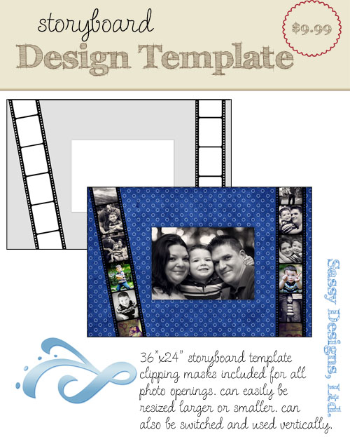 Photobooth 24x36 Storyboard Template