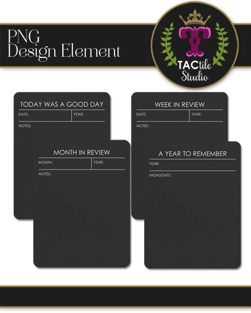 Review Journaling Cards