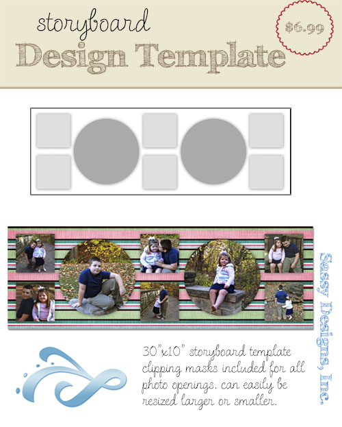 Riley 30x10 Storyboard Template