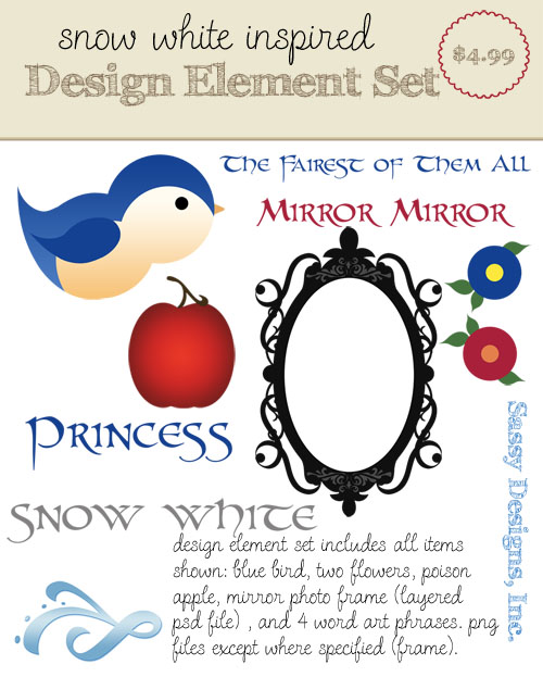 Snow White Inspired Design Elements